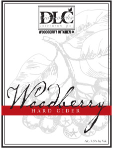Woodberry hard cider by Distillery Lane Ciderworks near Washington, D.C.