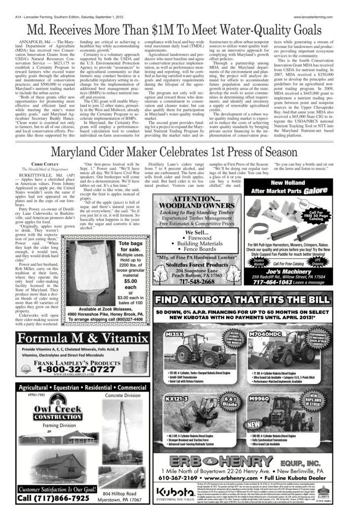 Burkittsville-Cider-Maker-Celebrates-First-Press-of-the-Season