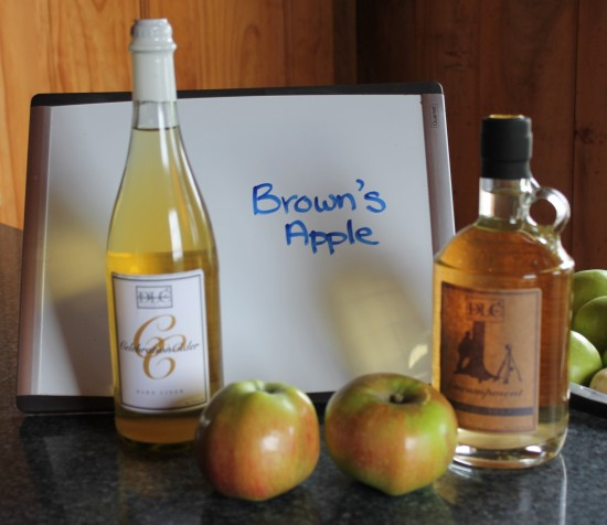 Brown's Apple