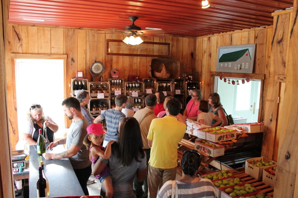 Cider tasting and farm tour